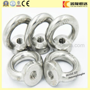Drop Forged DIN580 Lifting Eye Bolt and DIN582 Eye Nut pictures & photos