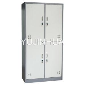 4 Door Steel Locker Metal Cabinet