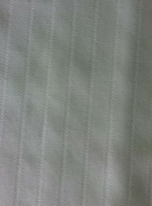 Wrinkle Free Finished Woven Herringbone Fabric