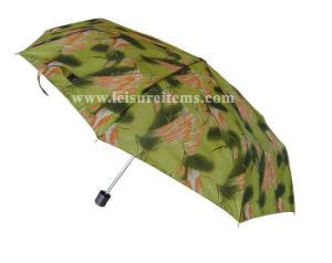 Assorted Color Folding Umbrella (OCT-TX025) pictures & photos