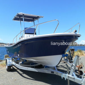 Liya 19FT Fiberglass Boat for Fishing Work Boat Fishing Boat Center Console pictures & photos