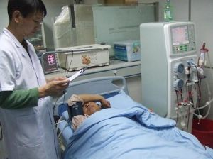 Double Pump LCD Touch Screen Dialysis Machine pictures & photos