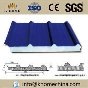 Cheap Polystyrene EPS Wall and Roof Insulated Sandwich Panel pictures & photos