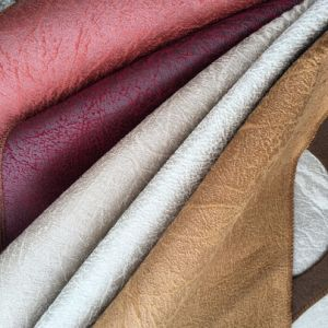 400gram Per Square Meter Leather Looking Suede Fabric Sofa Fabric (620) pictures & photos
