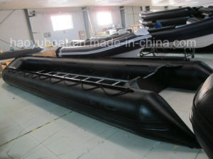 6.0m Inflatable Military Boat with PVC or Hypalon Boat, Sports Boat, Fishing Boat, China Cheap Boat with Plywood Floor pictures & photos