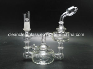 High Quality Hot Sale Glass Oil Rig Outside Recycler with 10mm Joint pictures & photos