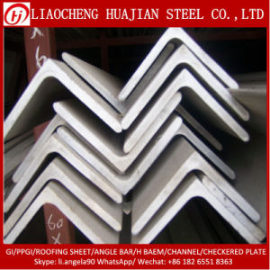 ASTM Angle Steel Bar with A36 Material pictures & photos