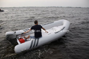 Liya 2.4m-5.2m China Semi Rigid Inflatable Rib Center Console Boat for Sale pictures & photos