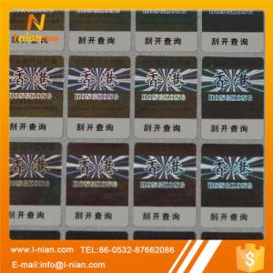 Custom Printing Holographic Sticker Label
