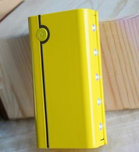 New Design Yellow Power Bank 10000mAh