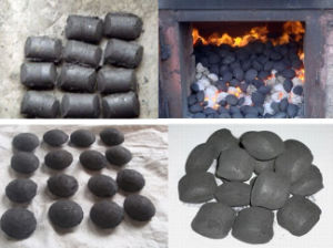 10 Tons Per Hour Pillow Ball Shape Coal Briquette Extruder Machine pictures & photos