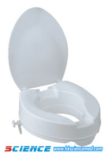 "EU Type Raised Toilet Seat with Cover (Height: 2""/4""/6"") pictures & photos"
