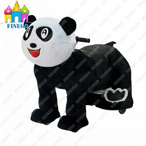 Finego Furry Panda Animal Zippy Toy Scooter Kiddie Rides for Sale pictures & photos