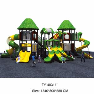 Wooden Outdoor Playground for Kids, Plastic Outdoor Playground pictures & photos