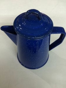 Night Sky Style Porcelain Enamel Teapot Kettle pictures & photos