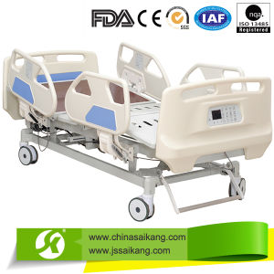 Electrical ICU Hospital Bed with X-ray Translucent Platform pictures & photos
