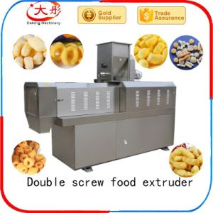 Core Filling Inflating Rice Cereal Puffs Snack Food Machinery pictures & photos