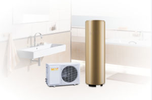 Passed Certificate Ce/FCC/RoHs/TUV 4.8kw Heating Capacity with 300L Tank Air Source Heat Pump pictures & photos