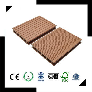 WPC Outdoor Flooring, Composite Decking, HDPE Decking 140X25 pictures & photos