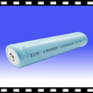 Cylinderical Chargeable Lithium Ion Battery (18650) 3.7V 1800mAh (chx18650-1800) (CHX18650-1800)