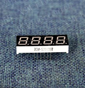 4 Digit 7 Segment LED Numeric Display