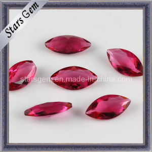 Rose Red Marquise Shape Fancy Cut Glass pictures & photos