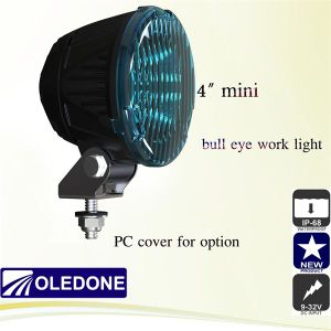 "9V-32V 4"" Mini Bull Eye LED Heavy Duty Work Light (WD-1L25)"