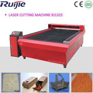High Precision Laser Cutting Machine with Ball Screw Transmission Rj1325 pictures & photos