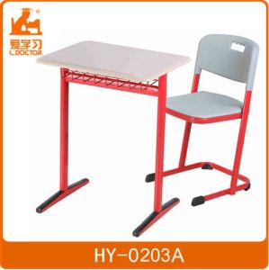 Strong Ergonomic High School Table and Chair pictures & photos