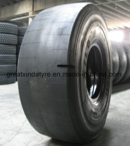 Hilo Brand Smooth Tread Pattern Tire for Underground Mine (35/65R33, 23.5R25) pictures & photos