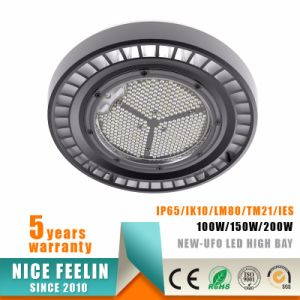 24000lm 200W CRI>80 IP65 UFO LED High Bay pictures & photos