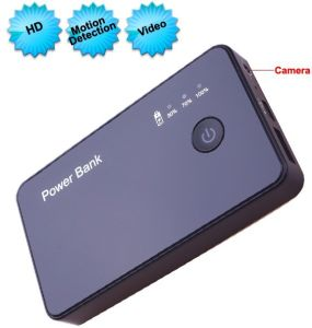 Multifunction 720p Power Bank DVR with Motion Detection/Video Camera pictures & photos