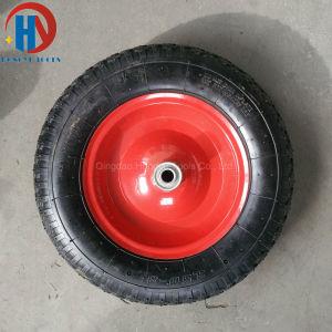 "Wheel Barrow Tyre 16""X3.50-8 Pneumatic Rubber Wheel pictures & photos"