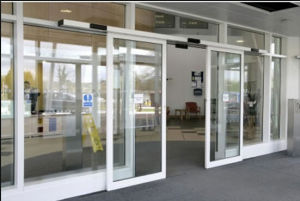 Aluminum Automatic Sliding Glass Door (DS-100) pictures & photos