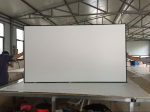 Projection Screens Fixed Frame Projector Screen pictures & photos