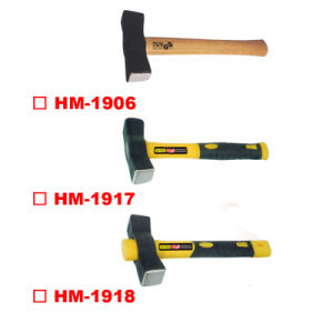 Spain Type Stoning Hammer with Wooden Handle pictures & photos