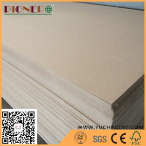 3mm Plain MDF / Raw MDF for Furniture pictures & photos