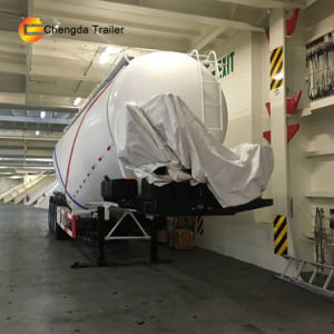 35m3 Dry Bulk Cement Silo Tanker Semi Trailer for Sale pictures & photos