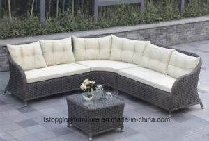 PE Rattan Wicker Sofa Outdoor Garden Furniture (TG-067) pictures & photos