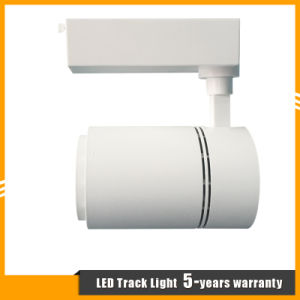 White/Black Aluminum Housing 35W CREE COB LED Track Spotlight pictures & photos