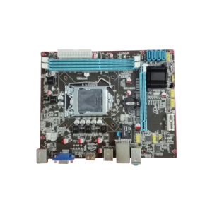 Factory Price Motherboard H61-1155 with 2X1.5V DDR3 DIMM, Maximum Capacity to 8g pictures & photos