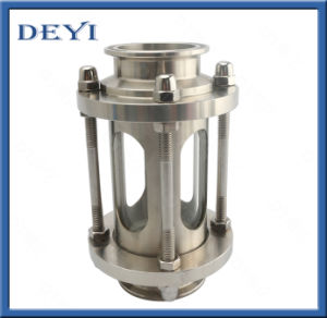 Stainless Steel Hygienic Clamped Inline Sight Glass pictures & photos
