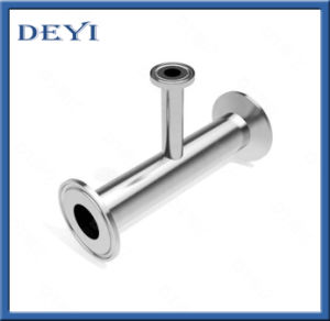 Sanitary Quick Installed Clamped Equal Tee Fittings (DY-F052) pictures & photos