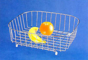 Stainless Steel Fruit Askets Basin Basket, Kitchen Hardware pictures & photos