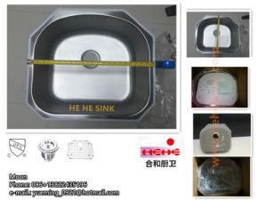 Stainlesss Steel Undmount Single Bowl Kitchen Sink pictures & photos