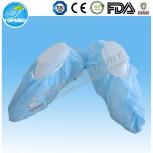 Medical Disposable Non Woven Shoe Cover with CE ISO FDA pictures & photos