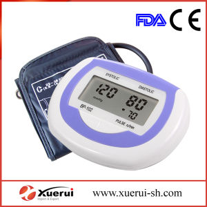 Fully Automatic Upper Arm Digital Blood Pressure Monitor with AC Adapter pictures & photos