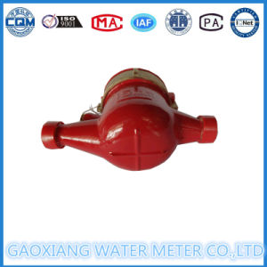 Red Color Multi Jet Brass Hot Water Meter pictures & photos