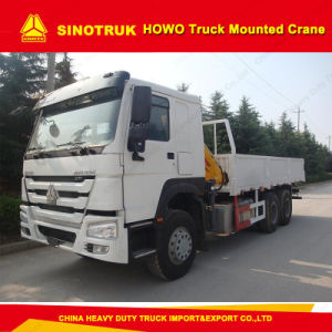 Sinotruk HOWO Truck 6*4 Mounted Crane Truck/Heavy Truck pictures & photos