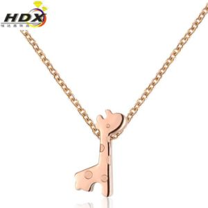 Christmas Gift Fashion Accessories Deer Stainless Steel Jewelry Necklace pictures & photos